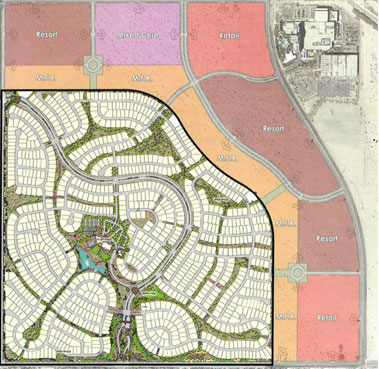 Del Webb at Rancho Mirage Site Plan